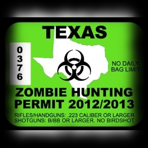Party Ideas for Halloween Zombie Hunting Permits