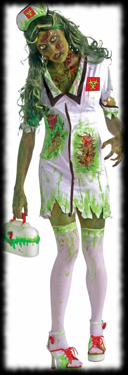 Party Ideas For Halloween Sexy Zombie Nurse Costume