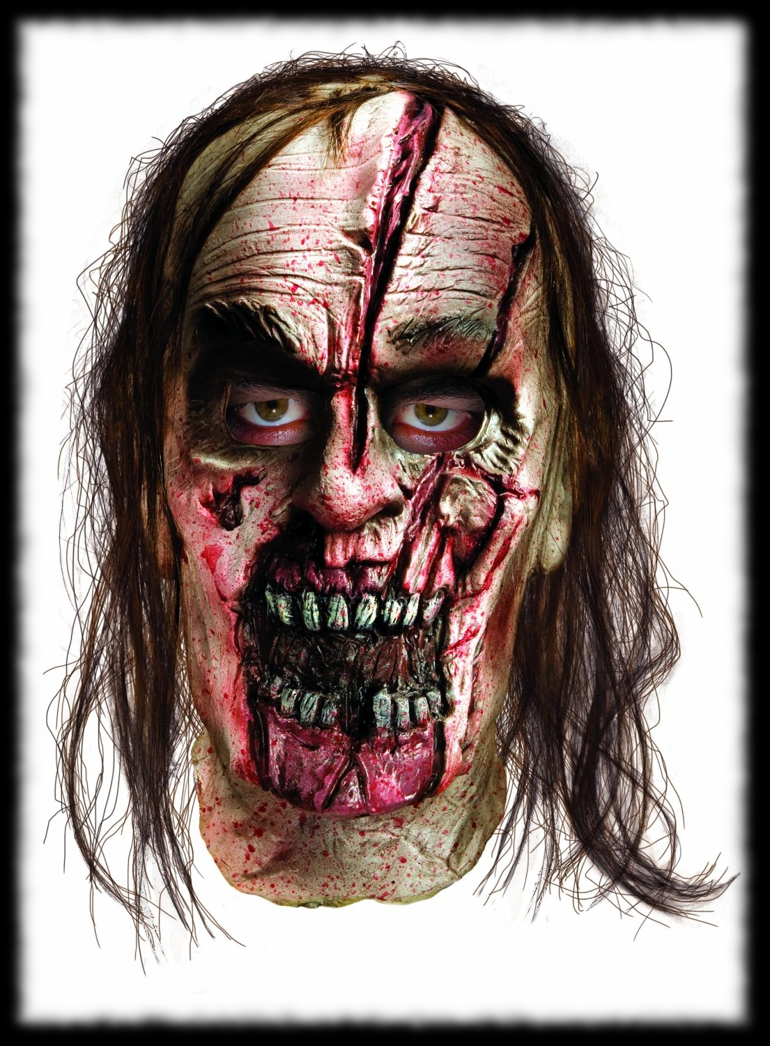 Deluxe Zombie Mask For Halloween Party Ideas